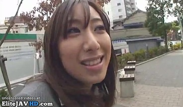 Japanese new secretary convinced to take cum in mouth
