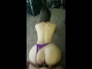 Perfect Teen doggystyle on the floor