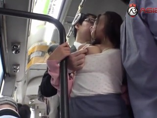 Porn - Asian Babe Gets Fucked On The Bus