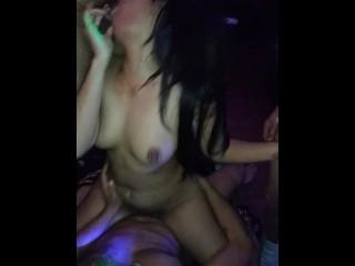 More GB footage of Aspiring Porn Star  Star Vivian Lang.
